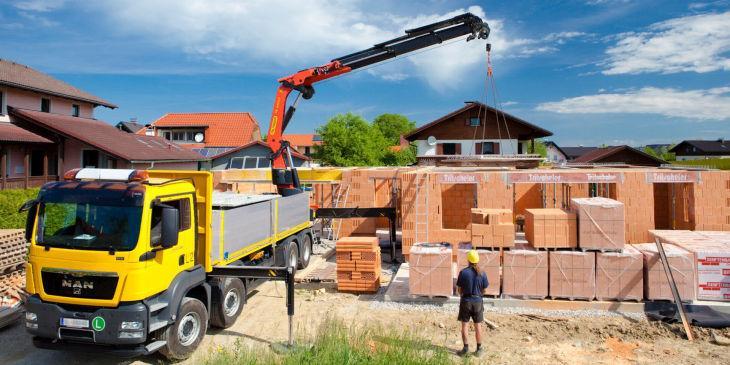 Перевозка строительных материалов любого вида